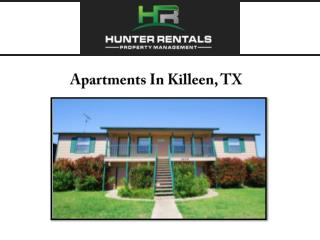 Apartments In Killeen, TX