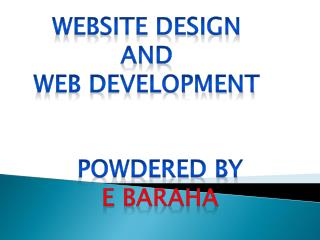 Website Design and Web Development Company