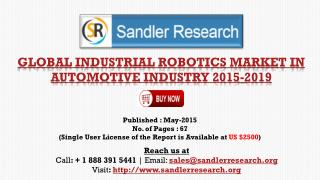 Vendors in Global Industrial Robotics Market in Automotive I