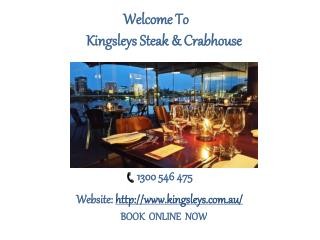 Enjoy the Delicious Seafood with Kingsleys