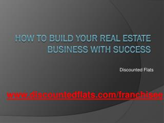 Pune Business offers in Real Estate Franchise Opportunity,Ta
