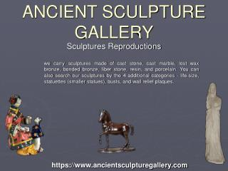 Buy Famous Sculptures Reproductions by Ancient Sculpture