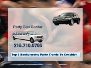 Top 5 Bachelorette Party Trends To Consider