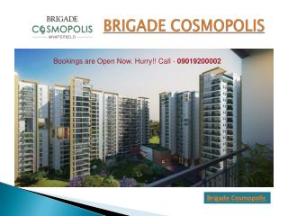 Brigade Cosmopolis – Buy Luxury Flats in Whitefield Bangalor