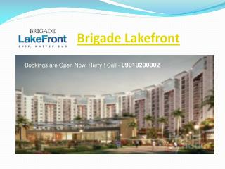 Brigade Lakefront � Buy Luxury Flats in Whitefield Bangalore