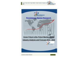 Green Polyol & Bio Polyol Market: Global Industry Analysis a
