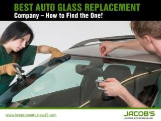 Windshield Replacement Dallas – How to Find the One!