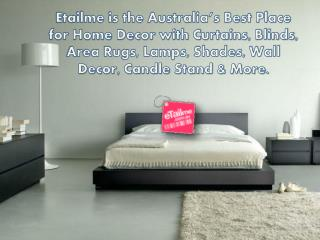 Etailme is the Australia's Best Place for Home Decor with Cu