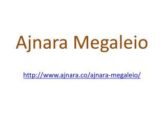Ajnara Megaleio Apartments Noida Expressway