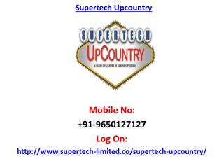 Supertech UpCountry Greater Noida