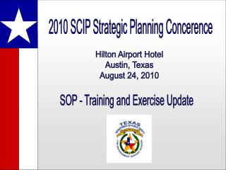 2010 SCIP Strategic Planning Concerence