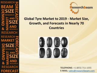 Global Tyre Market 2019, Size, Growth, Forecast, 70 Country