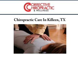 Chiropractic Care In Killeen, TX