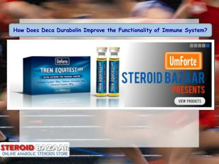 How Does Deca Durabolin Improve the Functionality of Immune