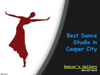 Best Dance Studio in Cooper City