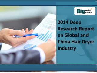 Deep Research Report on Global and China Hair Dryer Industry