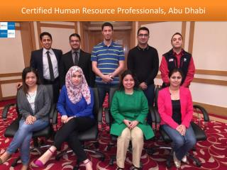 Certified Human Resource Professionals, Abu Dhabi