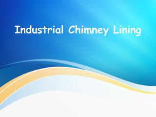 Industrial Chimney Lining 2015