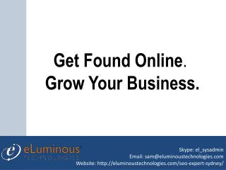 Get Found Online By SEO - Hire Our SEO Expert Sydney