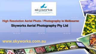 High Resolution Aerial Photography in Melbourne