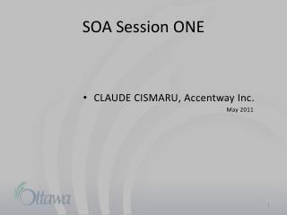 SOA-OSB Presentation