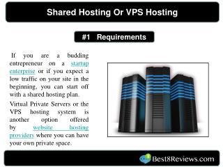 Shared Hosting or VPS Hosting