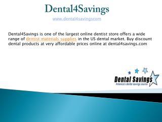 Online Dentist Materials Supplies