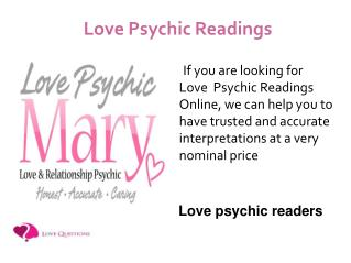 Love Psychic Readers