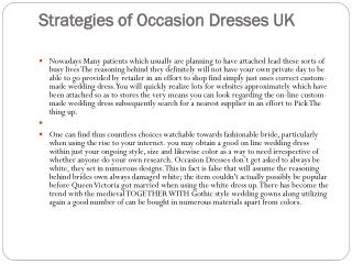 Discount Occasion Dresses