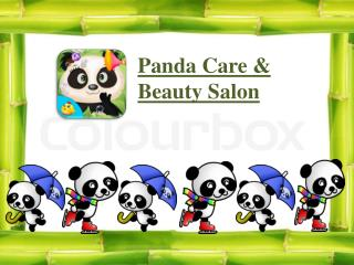 Panda Care & Salon - Kids Games