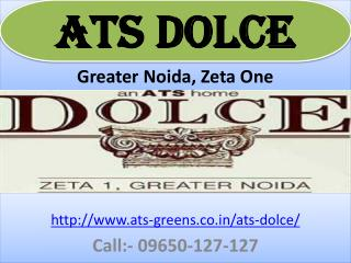 ATS Dolce 2BHK 3BHK and 4BHK Flats Sizes