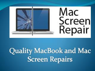 Mac Screen Repair