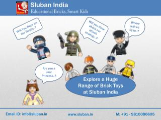 Lego toys, Lego building blocks, Lego set | Sluban India