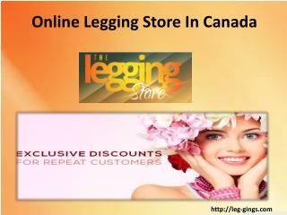 online clothing stores in Canada