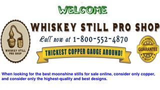Copper Moonshine Stills For Sale