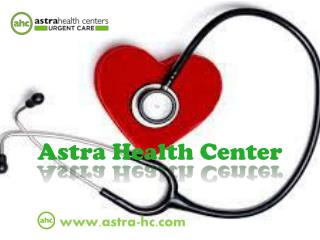 Astra Health Urgent Care Center, NJ(USA)