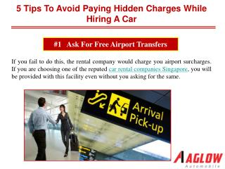 5 tips to avoid paying hidden charges while hiring a car