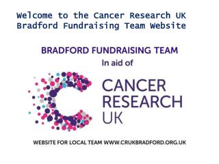 Cancer Research UK Bradford Fundraising Team
