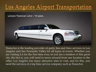 LA Limousine Service