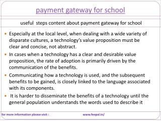 The name of a referring website related payment gateway for