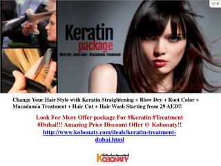 Keratin Treatment Dubai