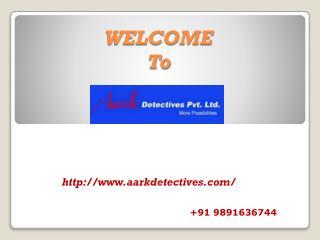 Private detective in Bangalore