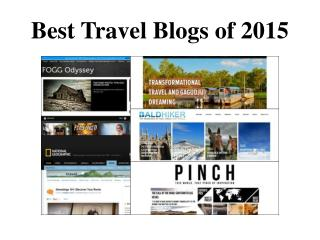 Best Travel Blogs with Amazing Pictures