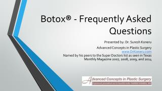 Botox in San Antonio
