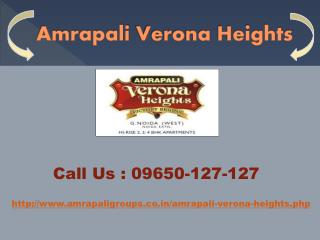 Amrapali Verona Heights at Noida Extension