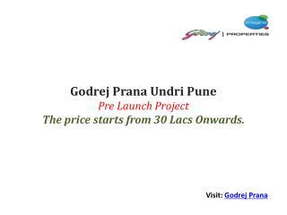 Godrej Prana Pune - 9168215551