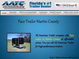 Pace Trailer Martin County