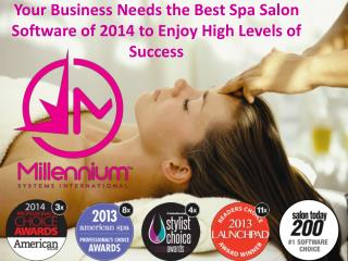 Your Business Needs the Best Spa Salon Software of 2014 to E