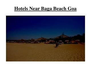 Hotels near baga beach Goa