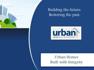 Urban Homes – The Award-Winning Master Builder in Hamilton